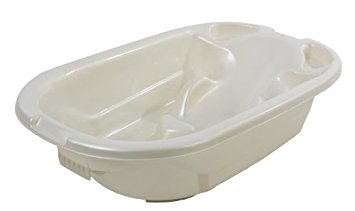 Dream On Me 2 Position Baby Bather Bath Tub, White