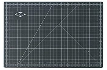 Alvin GBM2436 GBM Series 24 inches x 36 inches Green/Black Professional Self-Healing Cutting Mat