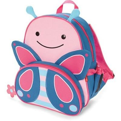 Skip Hop Zoo Little Kid and Toddler Backpack, Blossom Butterfly