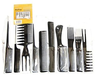 Magic 10 Piece Professional Styling Comb Set