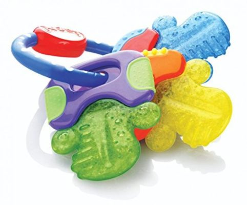 Nuby Icybite Hard/Soft Teething Keys