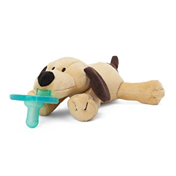 WubbaNub Brown Puppy Pacifier