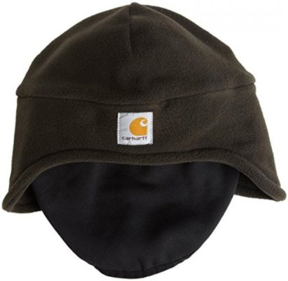 Carhartt Men's Fleece 2-In-1 Headwear,Moss,One Size