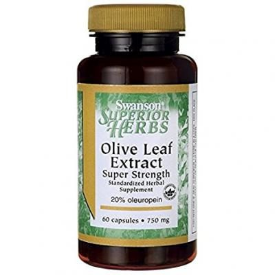 Olive Leaf Extract Super Strength 750 mg 60 Caps
