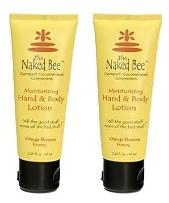 Naked Bee Orange Blossom Hand and Body Lotion, 2.25 Oz (2 Pack)
