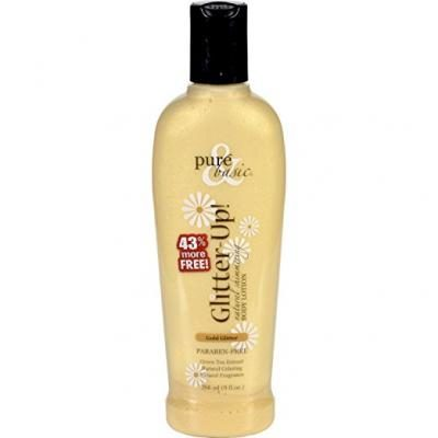 Glitter-Up Natural Shimmering Body 6.3 fl oz Lotion