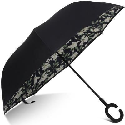 DOENR Compact Sun and Rain Travel Umbrella Windproof UV Protection Umbrella Auto Open Close Folding Umbrellas Burning Plam