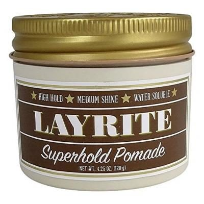 Layrite Super Hold Pomade, 4.25 oz