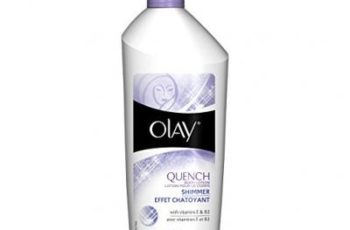 Olay Quench Plus Shimmer Body Lotion 20.2 oz. pump (Pack of 2)