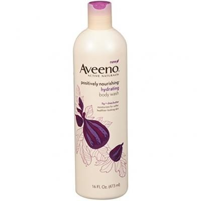 Aveeno Positively Nourishing Hydrating Body Wash, For Dry Skin 16 Fl. Oz