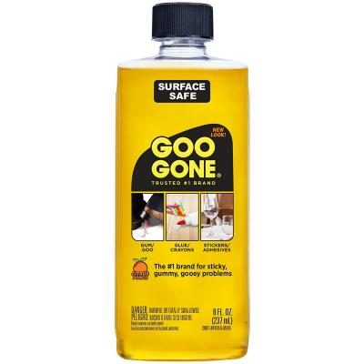 Goo Gone Surface Adhesive Remover Can Remove From Carpets Ceramic Porcelain Finished Wood Sealed Stone Painted Surfaces Gl Fabric Metals