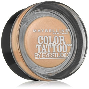 Maybelline New York Eyestudio ColorTattoo Metal 24HR Cream Gel Eye Shadow, Barely Branded, 0.14 oz.