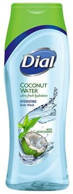 Dial Hydrating Body Wash, Coconut Water, 16 Ounce