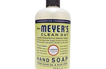 Mrs. Meyer's Clean Day Liquid Hand Soap, Lemon Verbena, 12.5 fl oz