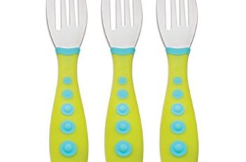 Gerber Graduates Kiddy Cutlery Forks in Neutral Colors, 3-count