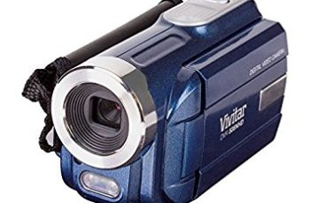 Vivitar DVR-508 4X Digital Zoom Video Recorder, Colors May Vary