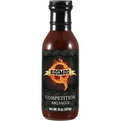 Competition BBQ Sauce 15oz Bottle - Perfect on Brisket, Pork, Chicken GLUTEN & MSG FREE