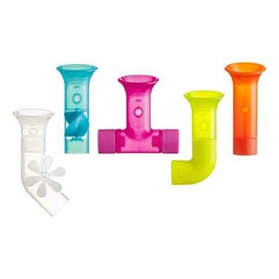 Boon Building Bath Pipes Toy Set, Set of 5