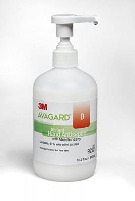 Avagard D 3M Healthcare Sanitizer Hand Gel with Moisturizer, 16.9 Fluid Ounce