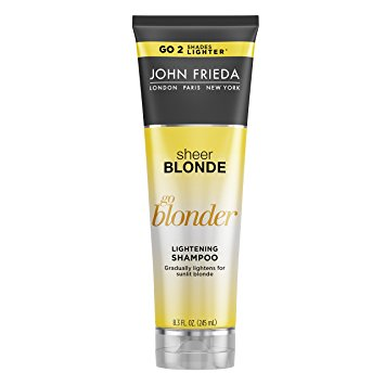 John Frieda Sheer Blonde Go Blonder Lightening Shampoo, 8.3 Ounce