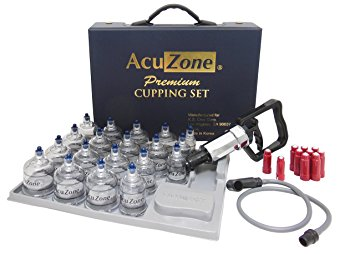 Premium Quality Cupping Set w/ 19 Cups, 10 Acu-pressure pointers are INCLUDED ***BEST CUPPING SET IN KOREA***