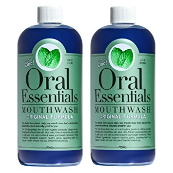 Oral Essentials Oral Essentials Mouthwash - 16 oz. (2 Pack)