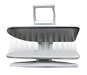 Ironing Press WITH INTEGRATED SLEEVE BOARD, 1400 Watts! for Dry or Steam Pressing, 38 Powerful Jets of Steam, 100lbs of Pressure, INCLUDES EXTRA COVER AND FOAM ( Value)! (Medium)