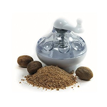 Norpro 775 Nut and Hard Spice Grinder for Nutmeg Ginger Rock Salt and Peppercorn