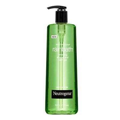 Neutrogena Rainbath Renewing Shower And Bath Gel, Body Wash, Pear & Green Tea, 16 Fl. Oz.