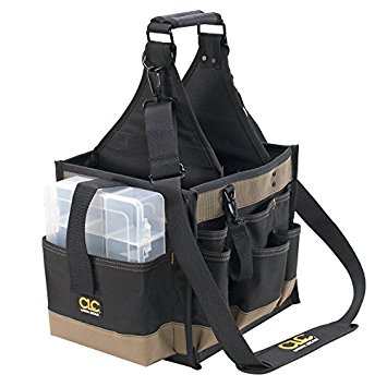 Custom LeatherCraft 1526 23 Pocket Electrical and Maintenance Tool Pouch