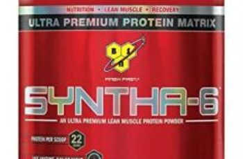 BSN SYNTHA-6 Protein Powder, Whey Protein, Micellar Casein, Milk Protein Isolate, Flavor: Cookies and Cream, 28 Servings