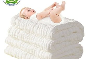 LOVE MY★ Natural Antibacterial,Super Water Absorbent,Super Soft Muslin Cotton Baby Bath Towels,Care for the baby skin,Newborn Muslin Cotton Warm Baby Bath Towels Also for Baby Blanket -1 pcs