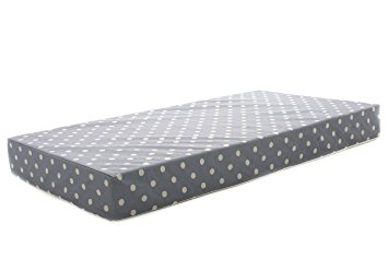 "Milliard Hypoallergenic Baby Crib Mattress or Toddler Bed Mattress With Waterproof Encasement - 27.5""x52""x5.5"""