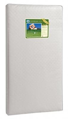 "Sealy Soybean Foam-Core Infant/Toddler Crib Mattress - Hypoallergenic Soy Foam, Extra Firm, Durable Waterproof Cover, Lightweight, Air Quality Certified Foam, 52""x28"""