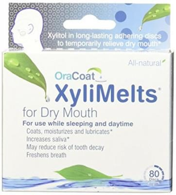 Oracoat Xylimelts Mild Mint Flavor, 80-Count Box