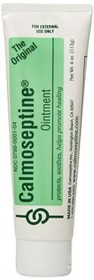 Calmoseptine Ointment Tube 4 Oz (3 Pack)