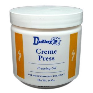 Dudley's Creme Press Pressing Oil for Unisex, 14 Ounce