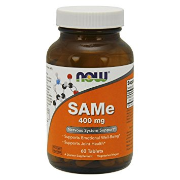 NOW SAMe 400 mg,60 Tablets