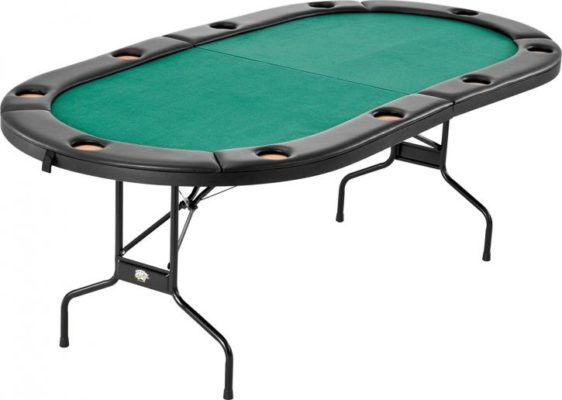 Best poker table top poker tables 2018 reviews for 10 person folding poker table