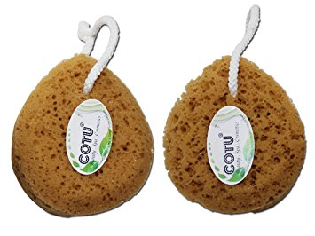 Twin Pack of COTU (R) Ultimate Lather Bath Sponge