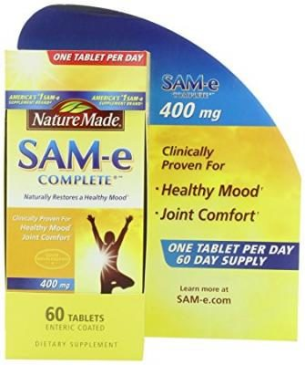 Nature Made SAM-e 400mg 60 ct