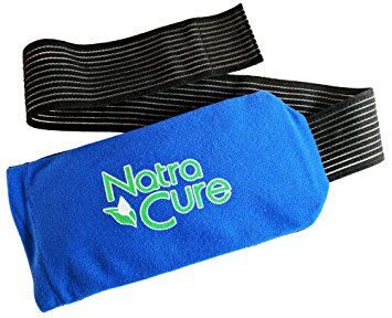 "NatraCure Universal Cold Pack Ice Wrap - (5"" x 10"" with 24"" nylon strap)"