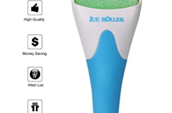 ESARORA Ice Roller for Face & Eye,Puffiness,Migraine,Pain Relief and Minor Injury,Skin Care Products (Blue)
