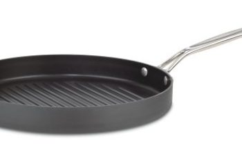 Cuisinart 630-30 Chef's Classic Nonstick Hard-Anodized 12-Inch Round Grill Pan