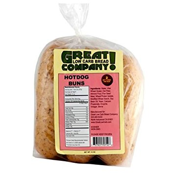 Great Low Carb Bread Co. - Hot Dog Buns 1 BAG