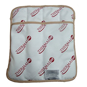 """Thermalon Microwave Activated Moist Heat Pad for Shoulder, Abdomen, Back, Hip, 9"""" x 12"""""""