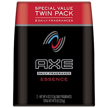 AXE Body Spray for Men, Essence 4 oz, Twin Pack