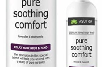 """Premium Aromatherapy Mist - """"PURE SOOTHING COMFORT"""" - Relax Your Body & Mind - 100% ALL NATURAL & ORGANIC Room & Body Mist, Essential Oil Blend - Lavender & Chamomile - 100% GUARANTEED"""