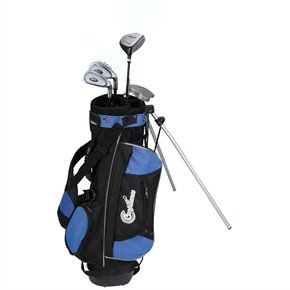 Confidence Junior Golf Club Set with Stand Bag (Right Hand, Ages 4-7)