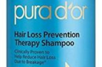 PURA D'OR Hair Loss Prevention Therapy Shampoo Thinning Hair Treatment Organic Argan Oil & Biotin, 16 Fluid Ounce